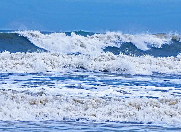 Photograph - Hurricane Storm Waves by Millard H Sharp
