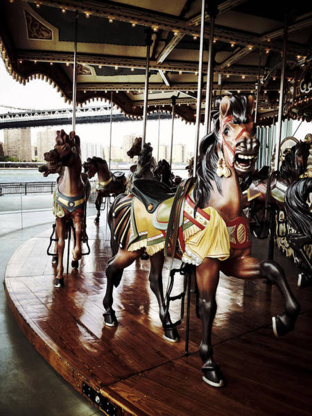 Photograph - Jane's Carousel by Natasha Marco