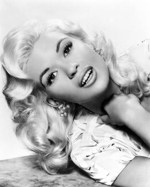 Glamorous Photograph - Jayne Mansfield by Silver Screen