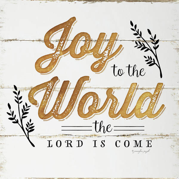 Wall Art - Painting - Joy To The World by Jennifer Pugh