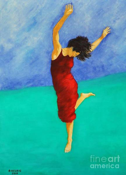 Painting - Jump Of Joy by Dagmar Helbig