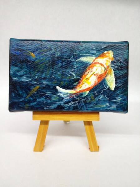 Painting - Koi by Darice Machel McGuire