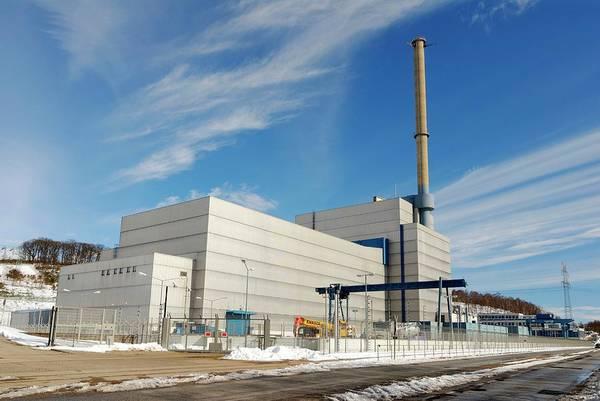 Wall Art - Photograph - Krummel Nuclear Power Plant by Bildagentur-online/ohde/science Photo Library