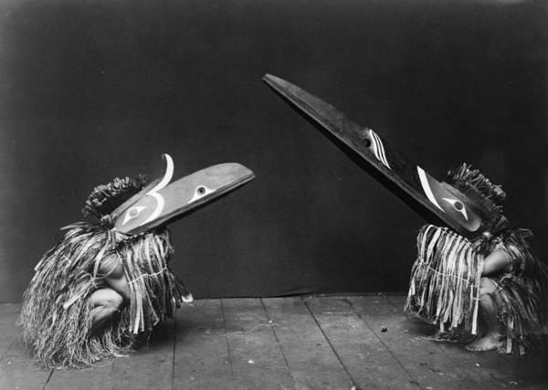 Wall Art - Photograph - Kwakiutl Dancers, C1914 by Granger