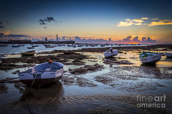 Photograph - La Caleta Beach Cadiz Spain by Pablo Avanzini