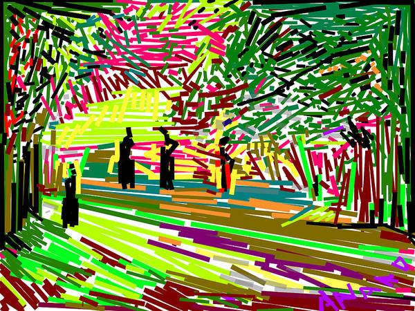 Wall Art - Digital Art - Landscape-1 by Anand Swaroop Manchiraju