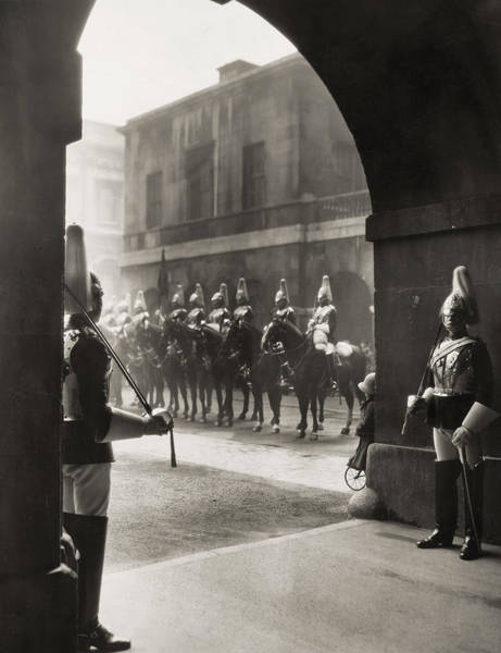 Wall Art - Photograph - London Horse Guards by Granger