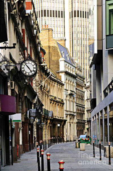 Photograph - London Street by Elena Elisseeva