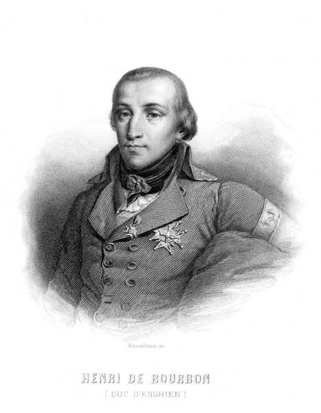 Wall Art - Drawing - Louis-antoine-henri De Bourbon-conde by Mary Evans Picture Library