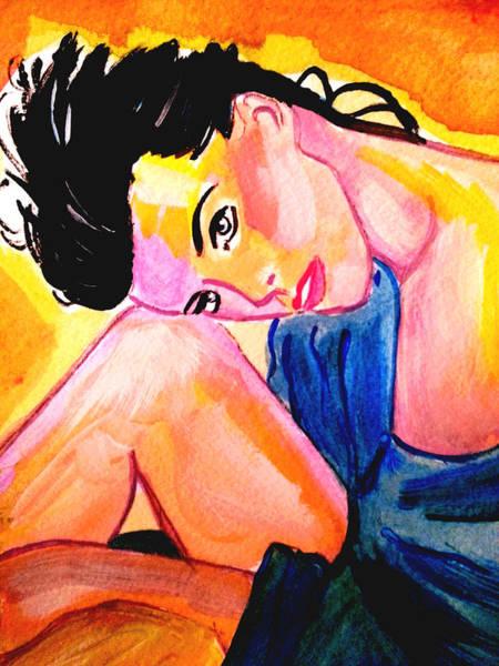 Painting - Lounging by Nikki Dalton