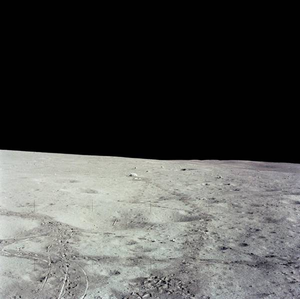 Javelin Photograph - Lunar Surface by Nasa/science Photo Library