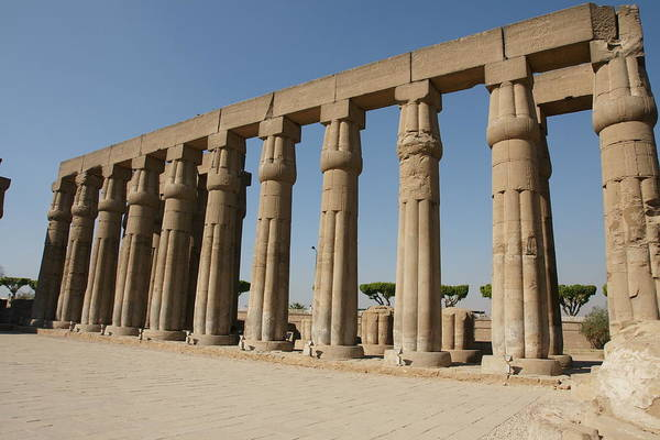 Photograph - Luxor Temple by Olaf Christian