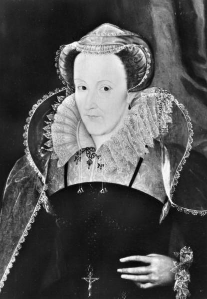 Painting - Mary, Queen Of Scots (1542-1587) by Granger