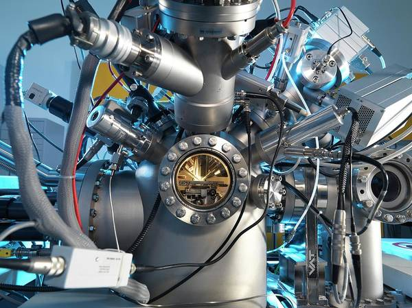 Ar Photograph - Mass Spectrometer by Andrew Brookes, National Physical Laboratory