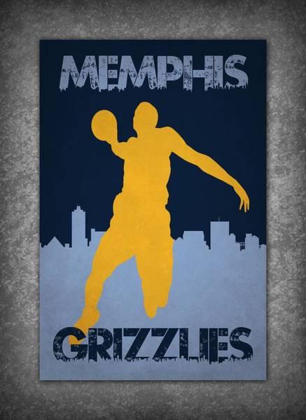 Memphis Grizzlies Wall Art - Photograph - Memphis Grizzlies by Joe Hamilton