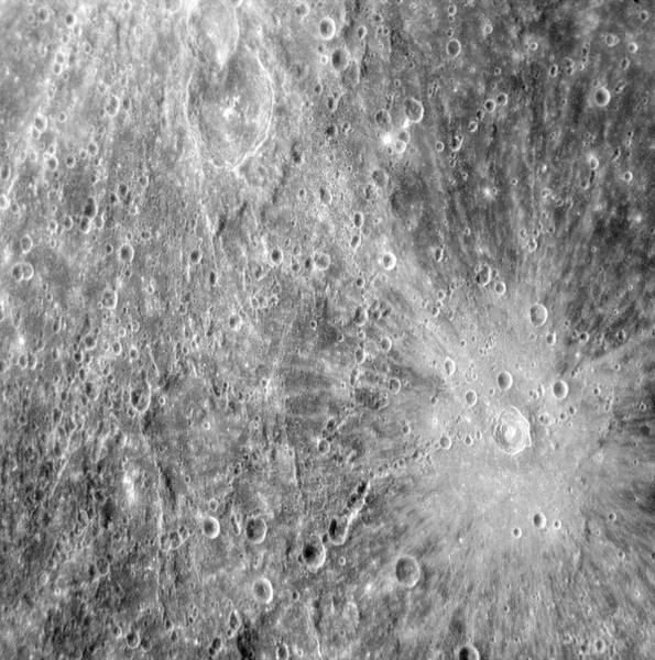 Flyby Photograph - Mercury by Nasa/jhu-apl/carnegie Institution Of Washington/ Science Photo Library
