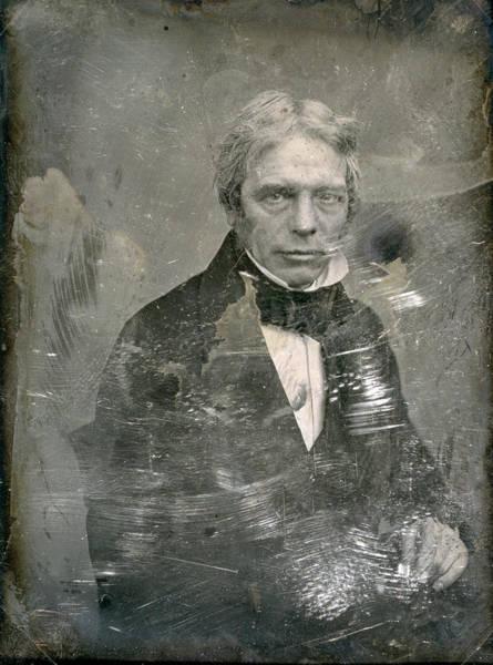 Photograph - Michael Faraday (1791-1867) by Granger
