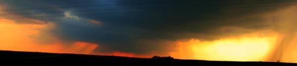 Photograph - Mild Afternoon Nebraska Thunderstorms by NebraskaSC