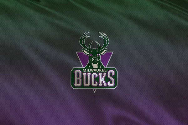Hoop Photograph - Milwaukee Bucks Uniform by Joe Hamilton