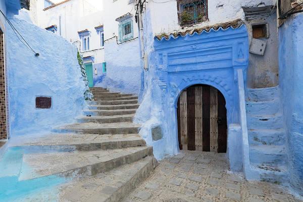 Chefchaouen Wall Art - Photograph - Morocco, Chefchaouen Or Chaouen by Emily Wilson