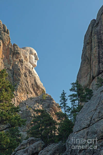 Photograph - Mount Rushmore National Monument by Fred Stearns