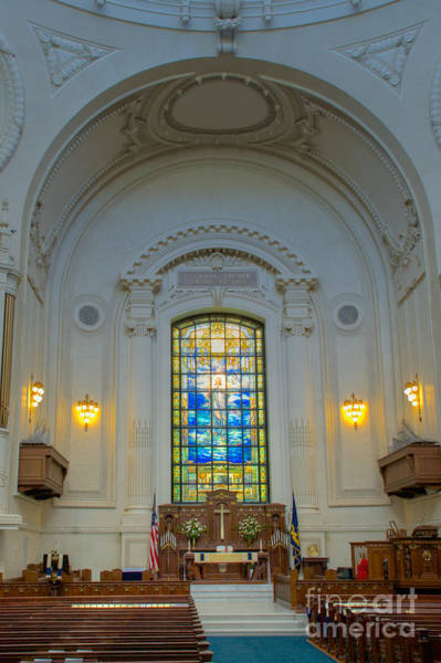 Photograph - Naval Academy Chapel by Mark Dodd