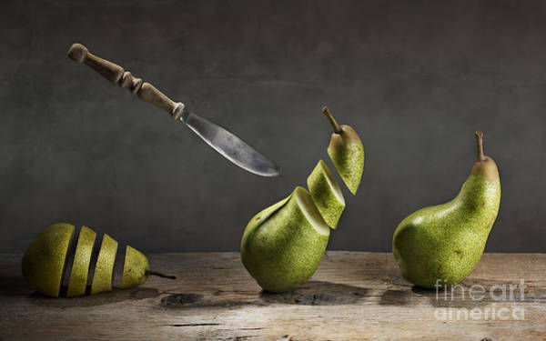 Pears Wall Art - Photograph - No Escape by Nailia Schwarz