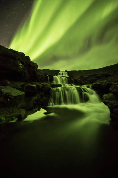 Wall Art - Photograph - Northern Lights, Or Aurora Borealis by Robert Postma