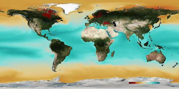 Alkaline Earth Photograph - Ocean Carbonate Saturation by Noaa