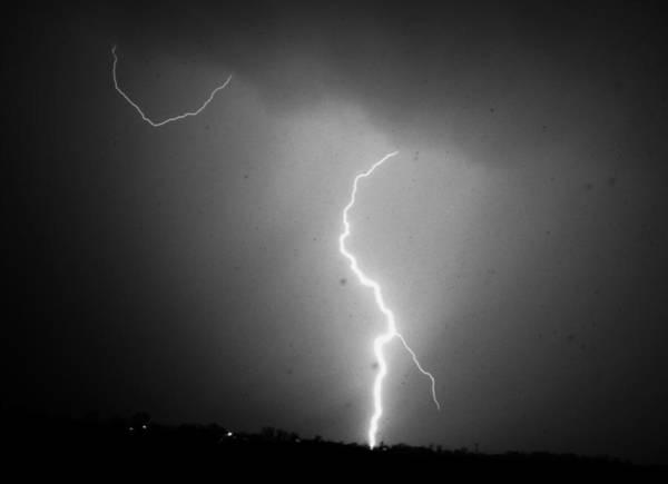 Photograph - Our 1st Severe Thunderstorms In South Central Nebraska by NebraskaSC