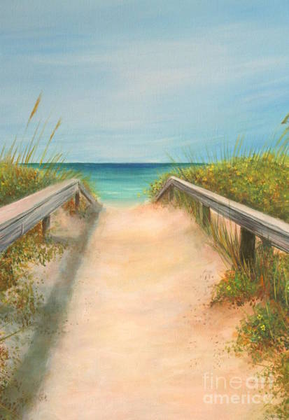 Wall Art - Painting - Pass A Grille Beach by Gabriela Valencia