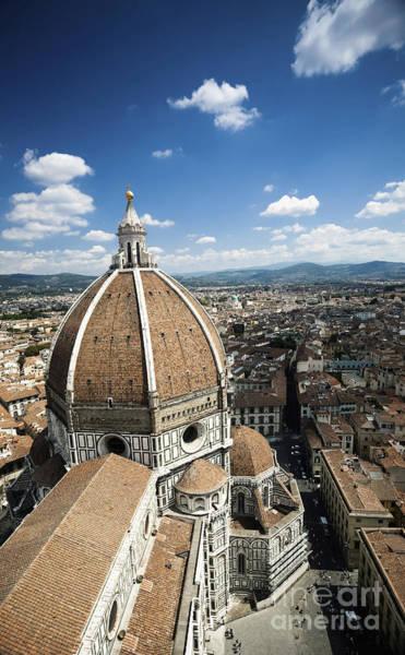 Piazza Del Duomo With Basilica Of Saint Art Print