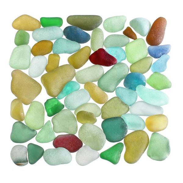 Frosted Glass Photograph - Pieces Of Sea Glass by Science Photo Library