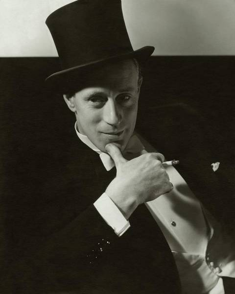 Male Photograph - Portrait Of Leslie Howard by Edward Steichen