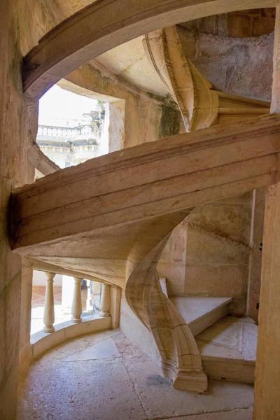 Knights Templar Photograph - Portugal Tomar Castle, Knights by Emily Wilson