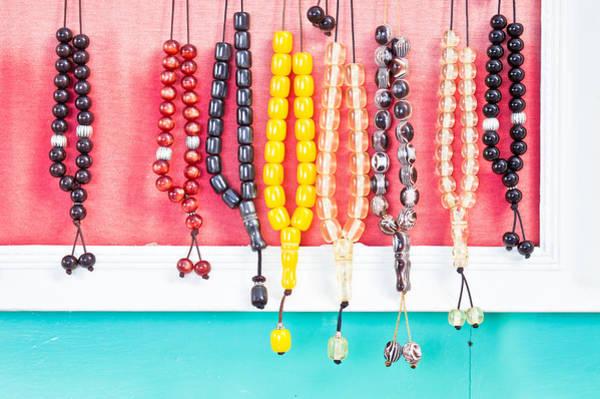 Handicraft Wall Art - Photograph - Prayer Beads by Tom Gowanlock