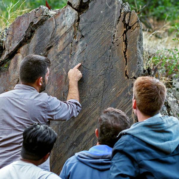 Wall Art - Photograph - Prehistoric Rock Art by Babak Tafreshi