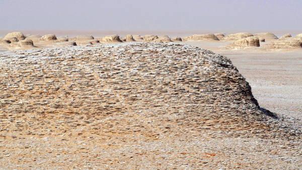 Deposit Photograph - Prehistoric Saharan Lake Deposits by Thierry Berrod, Mona Lisa Production