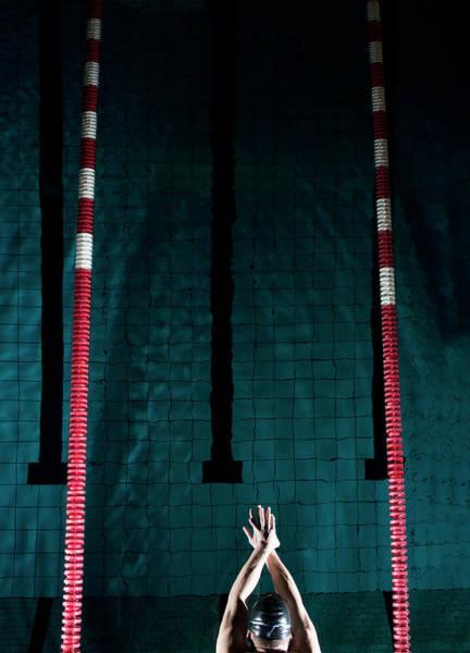 Human Hand Photograph - Professional Swimmer by Henrik Sorensen