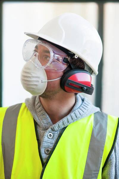 Wall Art - Photograph - Protective Workwear by Science Photo Library