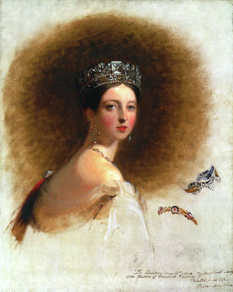 Painting - Queen Victoria (1819-1901) by Granger