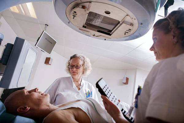 Therapist Photograph - Radiotherapy Treatment by Thomas Fredberg