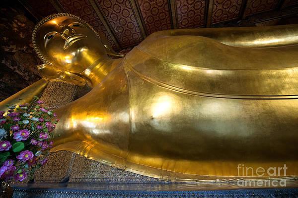 Photograph - Reclining Buddha by Yew Kwang