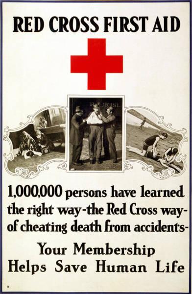 Membership Photograph - Red Cross Poster, 1919 by Granger