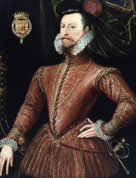 Wall Art - Painting - Robert Dudley (1532-1588) by Granger