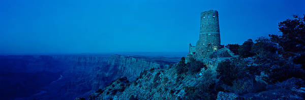 Desert View Tower Photograph - Rock Formations In A National Park by Panoramic Images