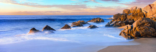 Baja California Peninsula Wall Art - Photograph - Rock Formations On The Beach by Panoramic Images