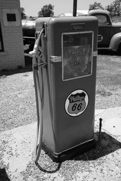 Photograph - Route 66 Gas Pump by Frank Romeo