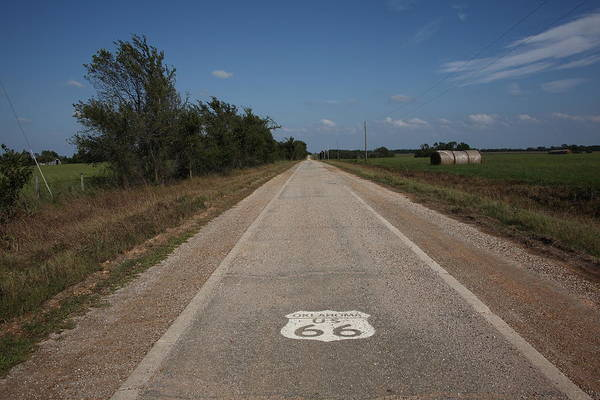 Photograph - Route 66 - Oklahoma by Frank Romeo