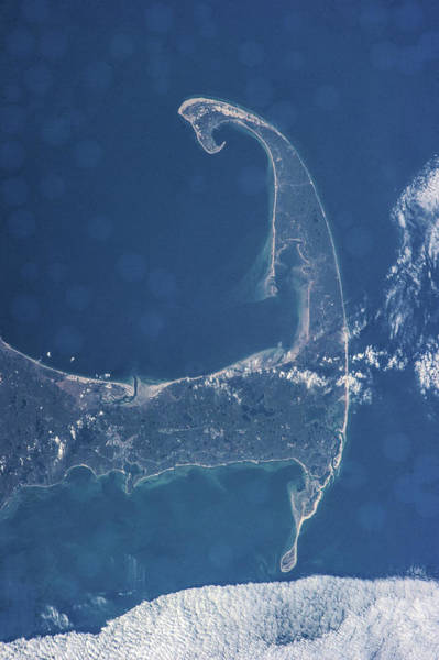Wall Art - Photograph - Satellite View Of Cape Cod National by Panoramic Images